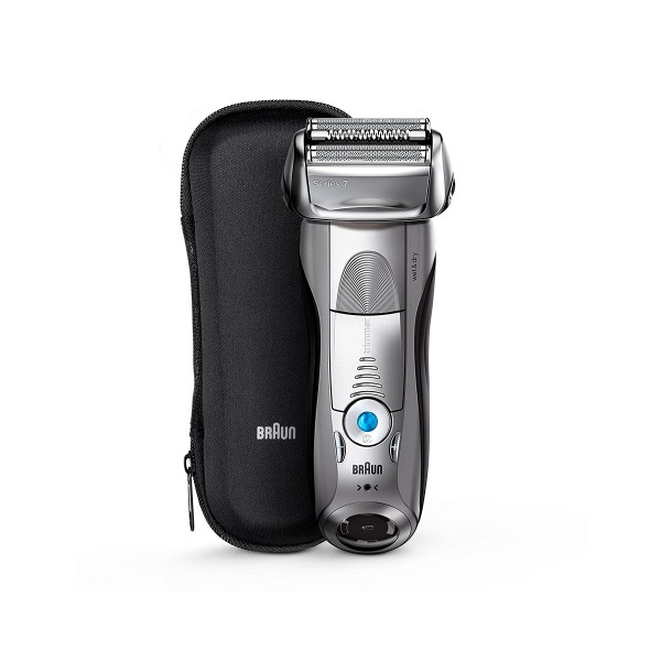 Braun 7893s plata serie 7 afeitadora eléctrica con funda de viaje
