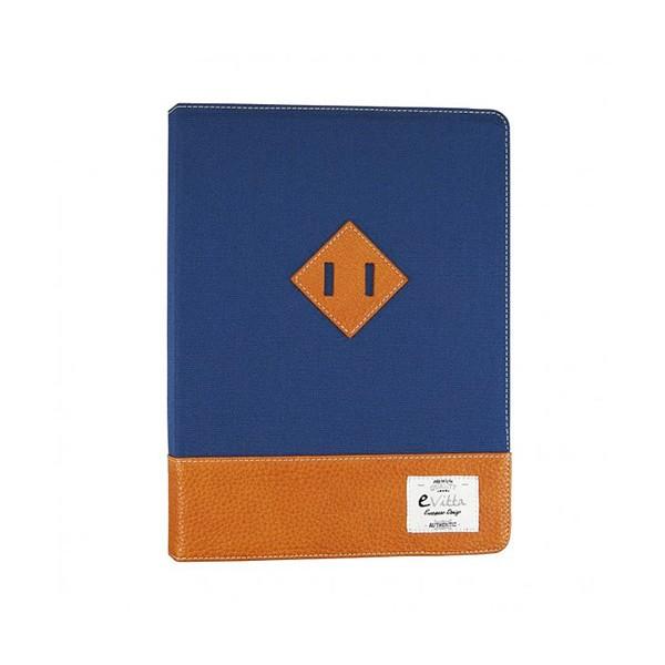 E-vitta evun000062 heritage azul/marrón funda universal 9'' a 10.1''