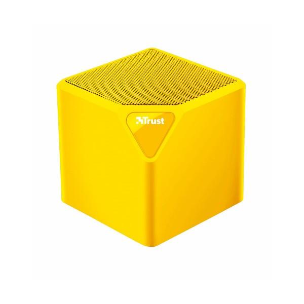 Trust primo wireless bluetooth speaker amarillo mini altavoz inalámbrico 3w rms bluetooth usb microsd y aux