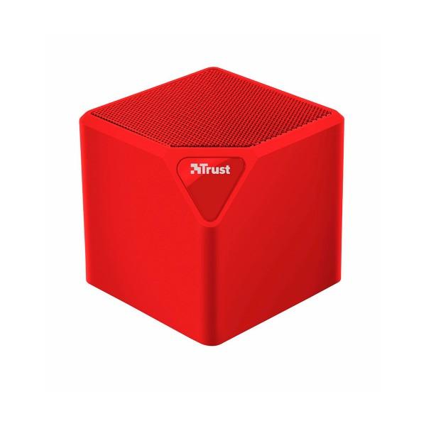 Trust primo wireless bluetooth speaker rojo mini altavoz inalámbrico 3w rms bluetooth usb microsd y aux
