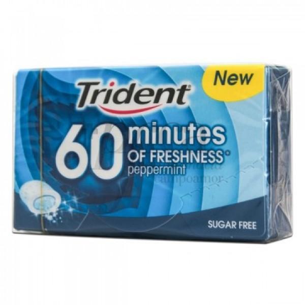 TRIDENT 60 MINUTES MENTA S/A