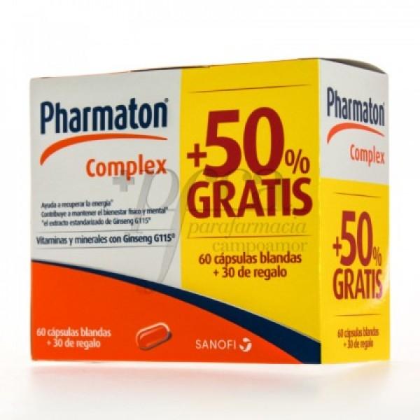 PHARMATON COMPLEX 60 + 30 CAPS PROMO