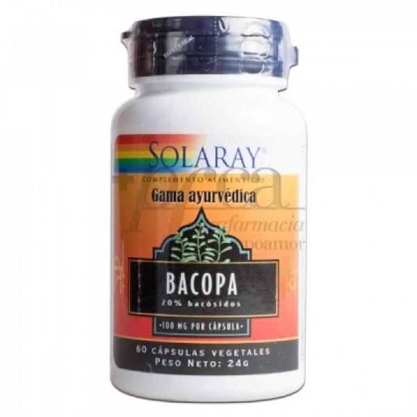 BACOPA 100 MG 60 CAPS SOLARAY