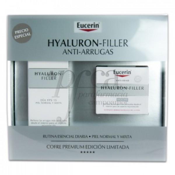 EUCERIN HYALURON FILLER DIA FPS15 + NOCHE PROMO