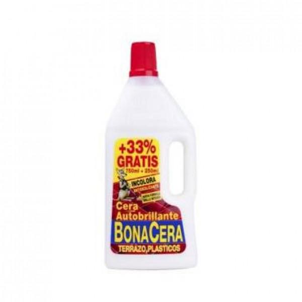 Bonacera cera Autobrillante incolora para terrazo 750 ml