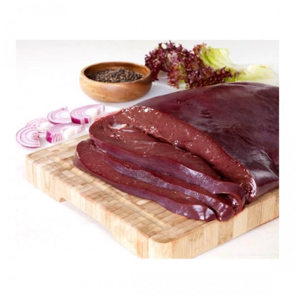 Hígado fileteado de ternera producción ecológica (vacío 0,4 kg. aprox.)