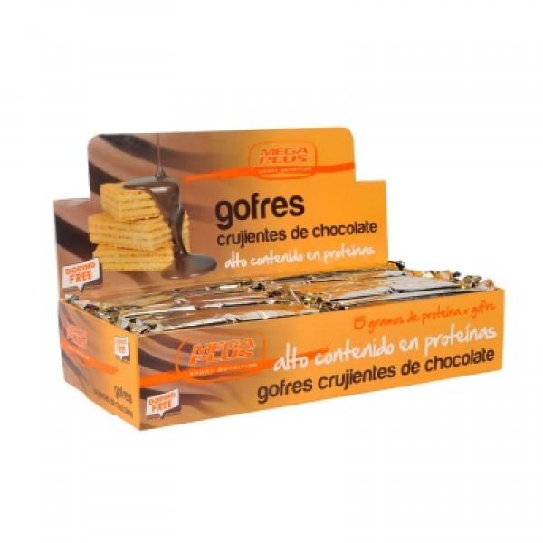 Exp. 12 gofres chocolate megaplus