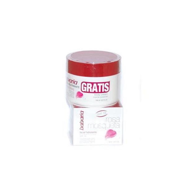 Babaria rosa mosqueta facial hidratante efecto reafirmante spf15 50ml