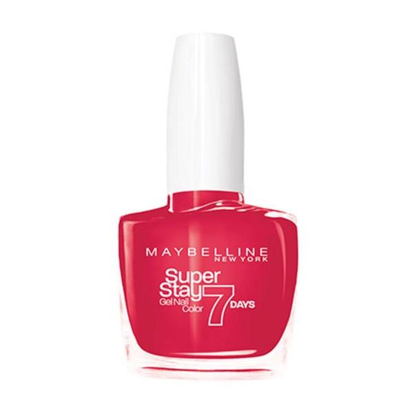 Maybelline superstay gel nail color 7 days 490 rose salsa