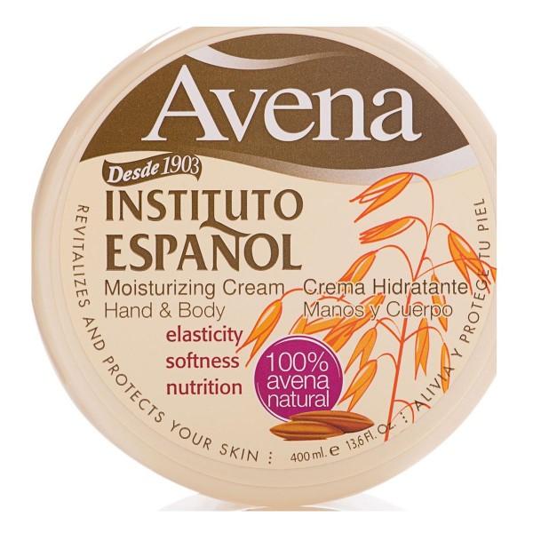 Instituto español avena crema hidratante 400ml