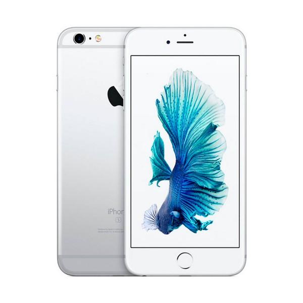 Apple iphone 6s plus 128gb plata reacondicionado cpo móvil 4g 5.5'' retina fhd/2core/128gb/2gb ram/12mp/5mp