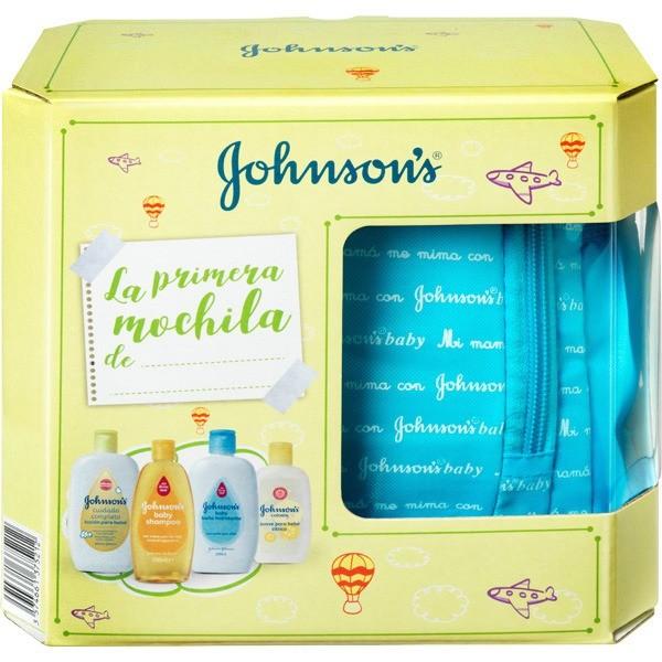 JOHNSONS BABY MOCHILA AZUL 4 U