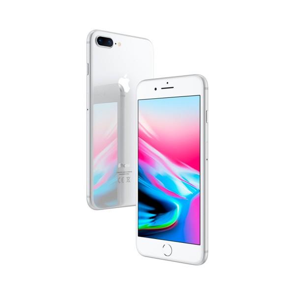 Apple iphone 8 plus 64gb plata reacondicionado cpo móvil 4g 5.5'' retina fhd/6core/64gb/3gb ram/12mp+12mp/7mp