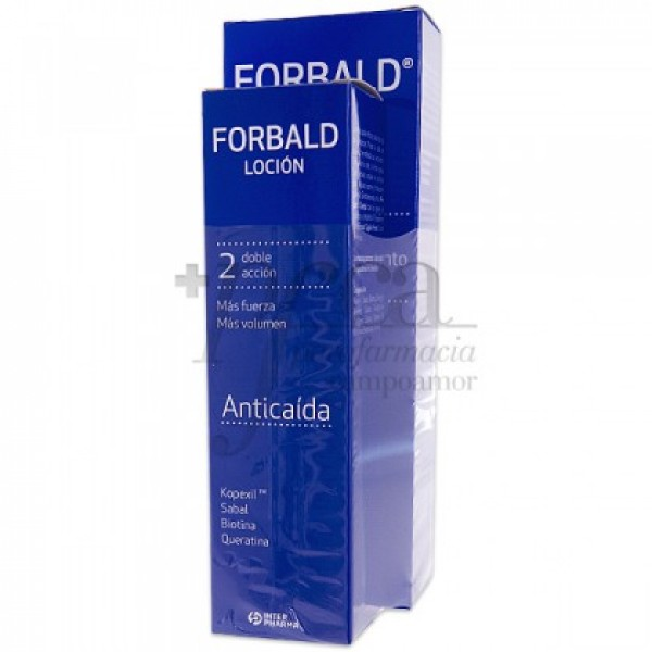 FORBALD CHAMPU 250ML +  LOCION 125ML PROMO