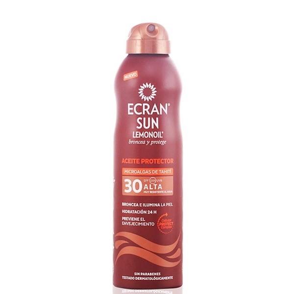 Ecran Sunnique Aceite bruma protectora SPF30 , 250 ml