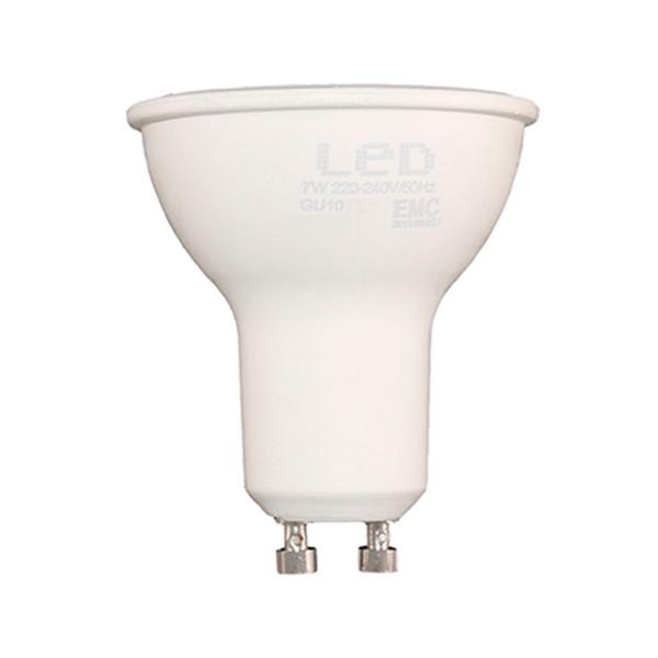 Sunmatic foco bombilla led casquillo gu10 7w 580 lumenes luz neutra 4200k