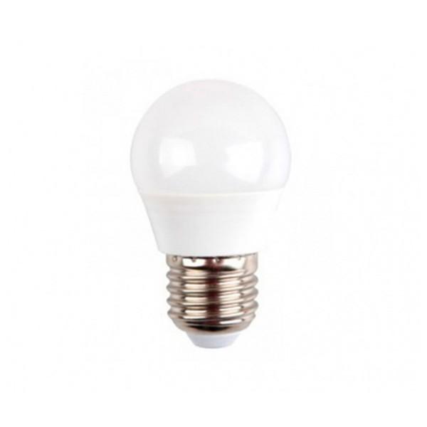 Sunmatic miniglobo bombilla led casquillo e27 6w 480 lumenes luz calida 3000k