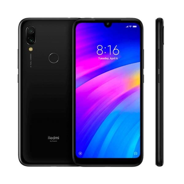 Xiaomi redmi 7 negro eclipse móvil 4g dual sim 6.26'' hd+/8core/64gb/3gb ram/12mp+2mp/8mp