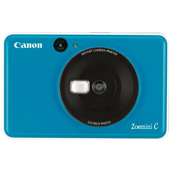 Canon zoemini c azul marino cámara 5mpx impresora instantánea 5x7.6cm