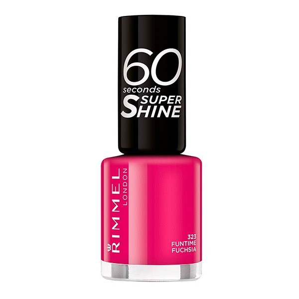Rimmel  60 Seconds Funtime Fuchsia 323