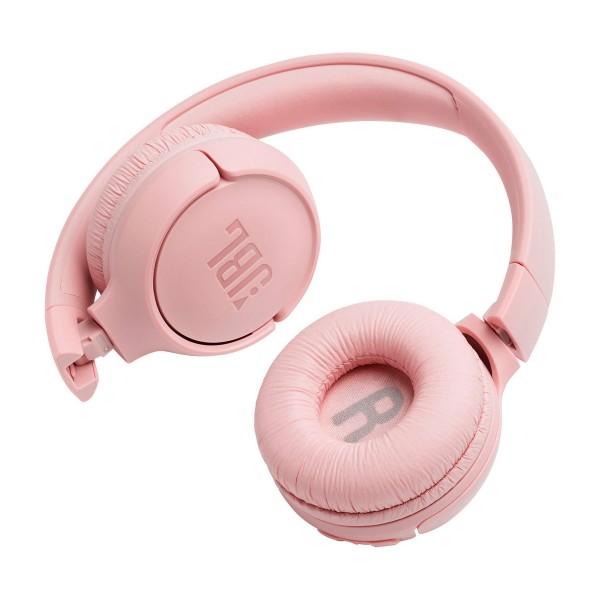 Jbl tune 500 bt rosa auriculares inalámbricos bluetooth multipunto jbl pure bass