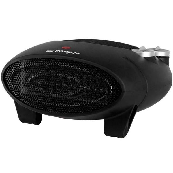 Orbegozo fh 5028 negro calefactor eléctrico 2000w 3 posiciones 2 niveles de calor