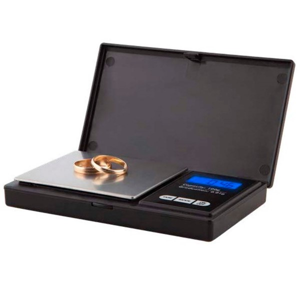 Orbegozo pc 3050 negra báscula electrónica de precisión capacidad máxima 100g escalado 0.01g pantalla lcd funciona a pilas