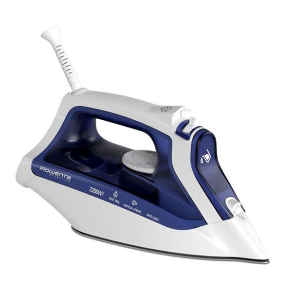 Rowenta dw2130 dry steam iron azul plancha de vapor 2200w
