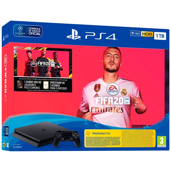 Sony playstation 4 slim 1tb pack fifa 2020