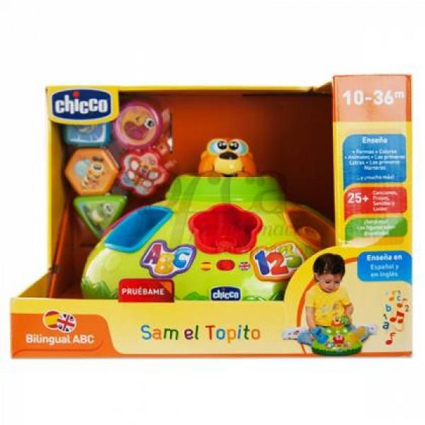 CHICCO SAM EL TOPITO 10-36M