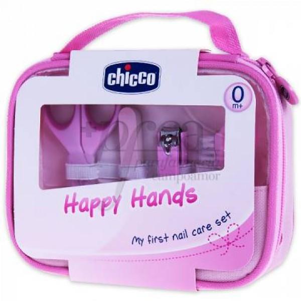 CHICCO HAPPY HANDS ROSA PROMO