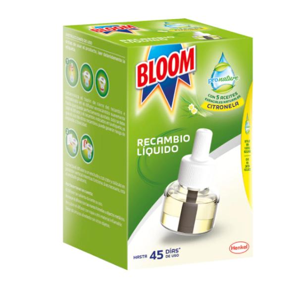 Bloom Pronature insecticida líquido Citronela 1 recambio
