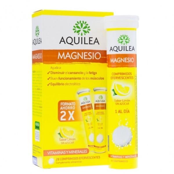 AQUILEA MAGNESIO 28 COMPS EFERVESCENTES