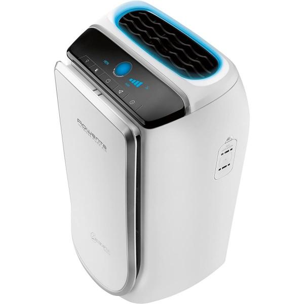 Rowenta intense pure air purificador de aire 60m2 30w con 4 velocidades y niveles de filtración