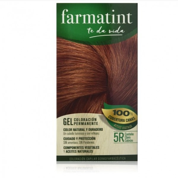 FARMATINT 8R RUBIO CLARO COBRIZO 150 ML
