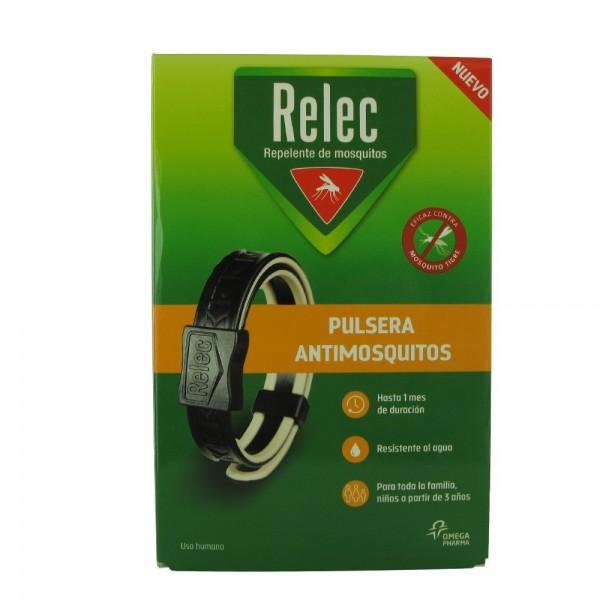 RELEC PULSERA ANTIMOSQUITOS 3A+ NEGRA