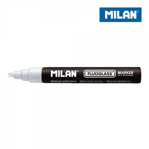 Blister rotulador blanco fluoglass 2-4mm milan