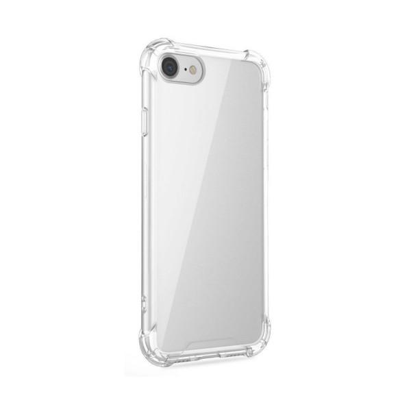 Jc funda antishock premium silicona transparente para iphone x/xs