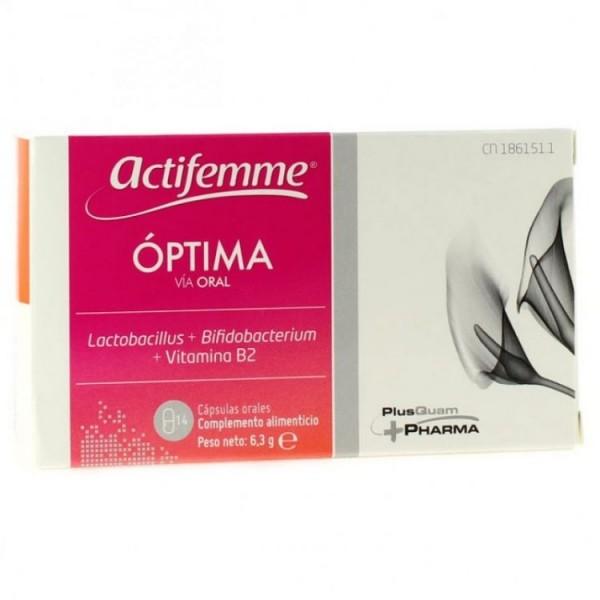 ACTIFEMME OPTIMA ORAL 14 CAPSULAS